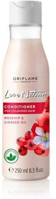 Oriflame Conditioner for Coloured Hair with Rosehip & Linseed Oil(250 ml)