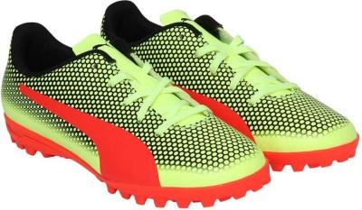 PUMA Boys Lace Football Shoes Yellow PUMA Sports Shoes