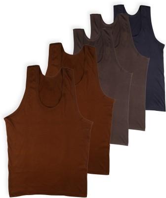 Rupa Jon Kids Vest For Boys Cotton(Multicolor, Pack of 5)