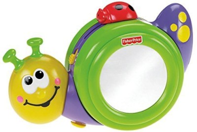 Fisher-Price Go Baby Go! 1 2 3 Crawl Along Snail(Multicolor)  available at flipkart for Rs.4228