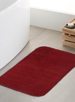 Riva Carpets Cotton Door Mat Red, Medium