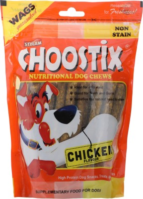 Choostix Nutritional Stix Chicken Dog Chew(450 g, Pack of 1)