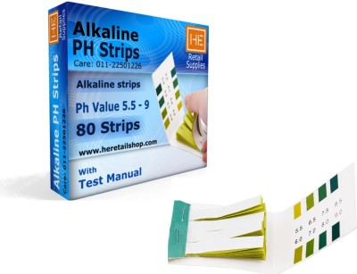 HE Retail Supplies AlkalinePH Ph Test Strip(5.5 - 9)  available at flipkart for Rs.225