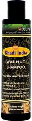 khadi abeers WALNUT SHAMPOO - PACK OF 1 PCS(225 ml)