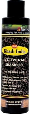 khadi abeers VETIVERIA SHAMPOO - PACK OF 1 PCS(225 ml)