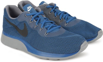 Nike TANJUN RACER Running Shoes For Men(Blue) 1