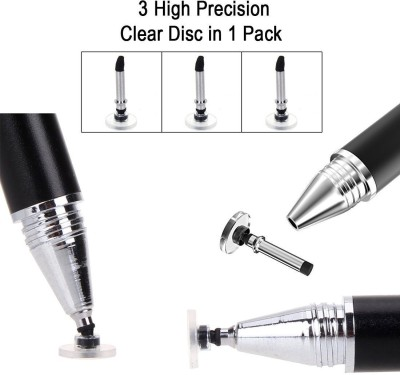 ELV Replacement Disc Tips for Stylus Multicolor ELV Stylus Pens