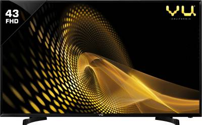 Vu 109cm (43 inch) Full HD LED TV  (43S6575 Rev PL)
