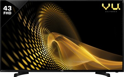 Vu 109cm (43 inch) Full HD LED TV(43S6575 REV PL/43S6575)