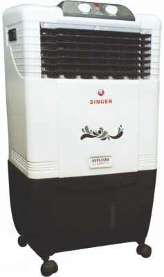 Singer Aviator Junior Personal Air Cooler(White, 30 Litres)