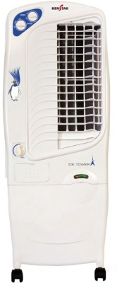 Kenstar Ice Tower Tower Air Cooler(White, 20 Litres)
