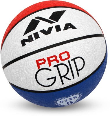 Nivia Pro Grip Basketball - Size: 6(Pack of 1, Red, Blue, White)