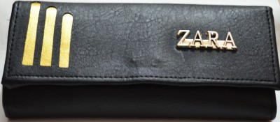 zara Casual Black  Clutch  available at flipkart for Rs.295