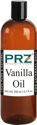 PRZ Vanilla Essential Oil (200ML) - Pure Natural & Undiluted For Skin Care & Hair Care Hair Oil(200 ml)