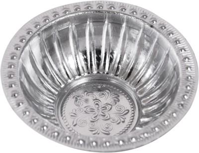 saraswatimetal NB Aluminium Pooja & Thali Set(Silver)  available at flipkart for Rs.50