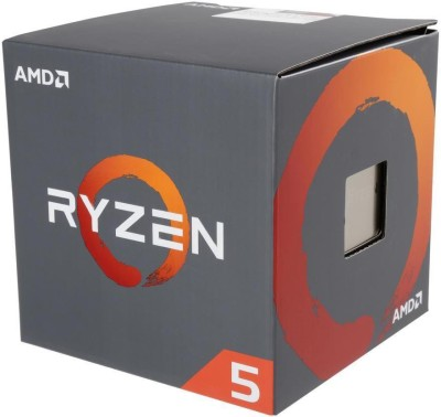 AMD 3.2 AM4 Ryzen 5 1400 Processor(Silver)