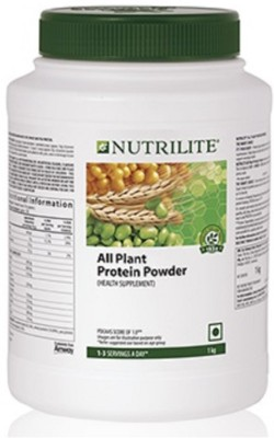 Amway Nutrilite all plant protein powder Plant-Based Protein(1000 g, Unflavored)  available at flipkart for Rs.2389
