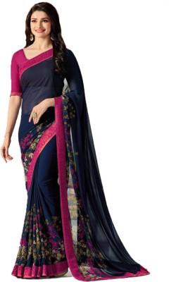 Design Willa Printed Venkatagiri Silk Cotton Blend Saree(Multicolor)