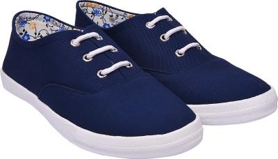 Jade JC MATTY DERBY Canvas Shoes For Women(Blue)