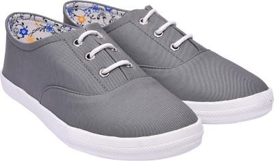 Jade JC MATTY DERBY Canvas Shoes For Women(Grey)