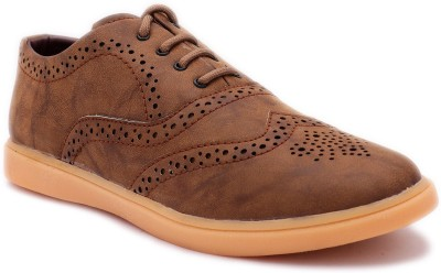 Red Rose Casuals For Men(Brown