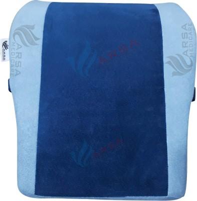 Arsa Medicare Back Rest Back & Abdomen Support (Free Size, Blue, Grey)