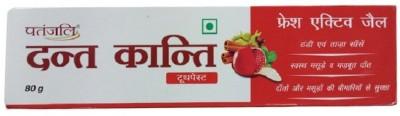 Patanjali Dant Kanti Fresh Active Gel Toothpaste, 80 GM