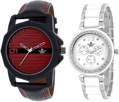 Swisso SWS-430-RD-703-SW Elegant Series Analogue Watch  - For Men & Women