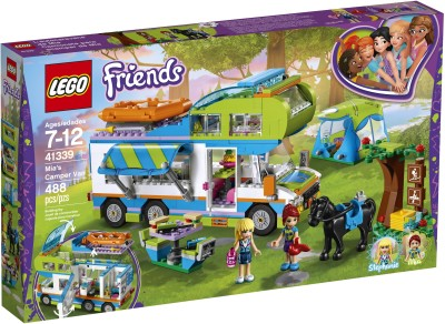 Lego Friends Mia's Camper Van (488 Pcs)(Multicolor) at flipkart