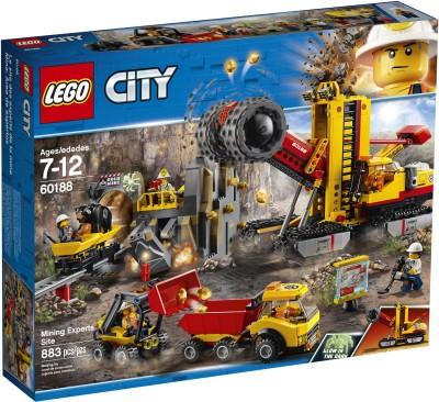 Lego City Mining Experts Site (883 Pcs)(Multicolor) at flipkart