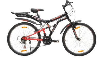 HERCULES Frozo ZX 26 T 18 Gear Mountain Cycle(Red, Black)