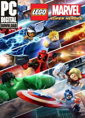 LEGO Marvel Super Heroes Standard Edition Full Game(Digital Game Only - for PC)  available at flipkart for Rs.549