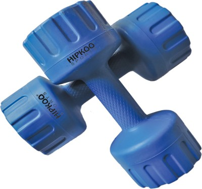 Hipkoo 4kg * 2pcs PVC aerobics and fitness Fixed Weight Dumbbell(8 kg)