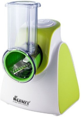 Warmex SDM 09 Salad & Desert Maker 250 W Food Processor(White & Green)