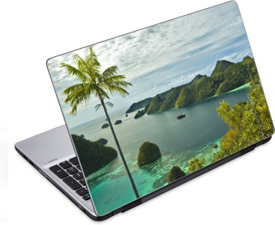 ezyPRNT The island  14 to 14.9 inch  Vinyl Laptop Decal 14