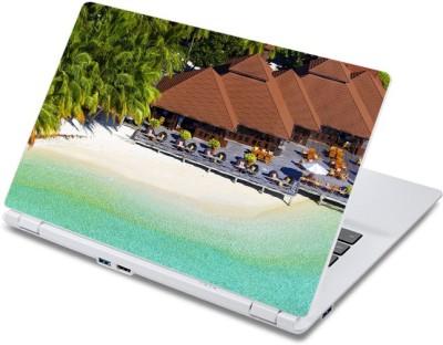 ezyPRNT Sea Beach Resort  13 to 13.9 inch  Vinyl Laptop Decal 13