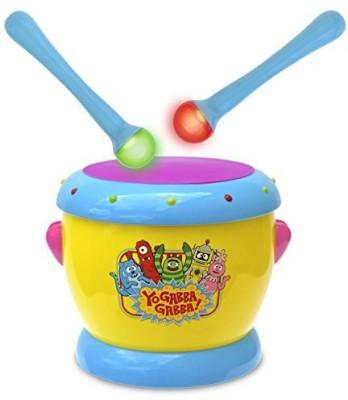 Yo Gabba Gabba Music Drums With Light Up Sticks(Multicolor)