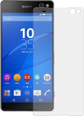 CAPITAL GADGETS Tempered Glass Guard for SONY XPERIA C5 ULTRA WITH NANO TECHNOLOGY UNBREAKABLE AND FLEXIBLE