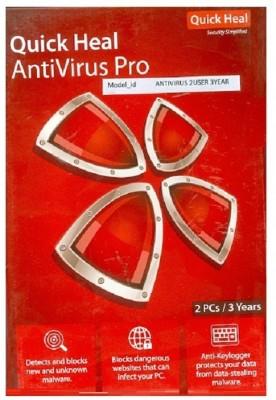 Quick heal ANTIVIRUS 2USER 3YEAR