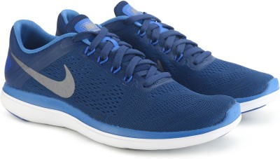 Nike FLEX 2016 RN Running Shoes For Men(Blue) 1