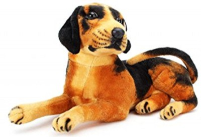 stuffed toy cute and soft puppy   32 cm Multicolor