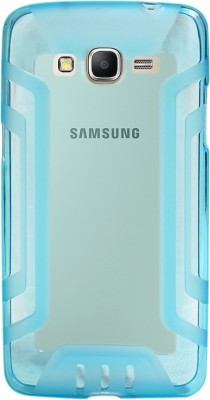 Ubros Network Back Cover for Samsung Galaxy Grand Prime, Samsung SM-G530H(Sky Blue, Grip Case, Flexible Case)