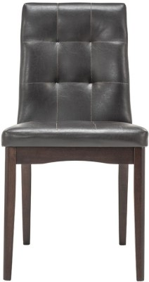 Durian DEBRA Solid Wood Dining Chair(Set of 1, Finish Color - Dark Brown)