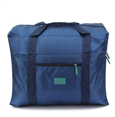 41% OFF on PackNBuy (Expandable) Foldable Big Travel Carry On Organizer Travel  Duffel Bag(Blue) on Flipkart  253e16d65a0cb