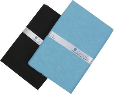 Cotts Hub Cotton Solid Shirt & Trouser Fabric(Un-stitched)