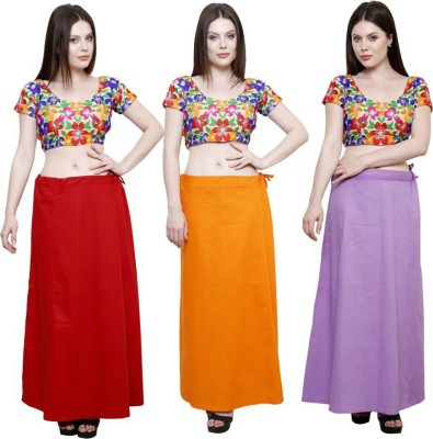 M.S.Retail TRIPLE COMBO Cotton Petticoat(Free)