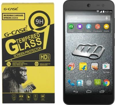 G-case Tempered Glass Guard for FOR Micromax Canvas Xpress 2 E313