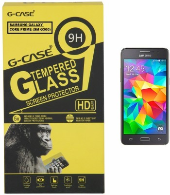 G-case Tempered Glass Guard for FOR Samsung Galaxy Core Prime (SM-G360)(Pack of 1)