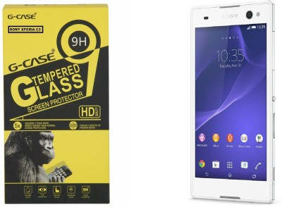 Mobikare Tempered Glass Guard for Sony Xperia C3 / Sony Xperia C3 Dual SIM
