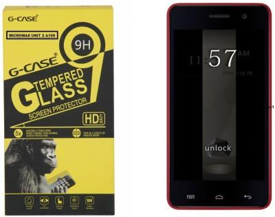 G-case Tempered Glass Guard for Micromax Unite 2 A106